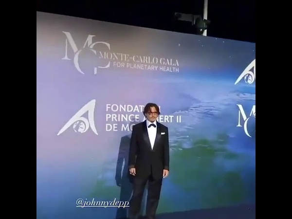 Johnny Depp em Mônaco