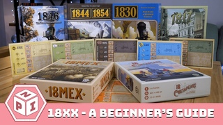The Wonderful and Brutal World of 18xx Games