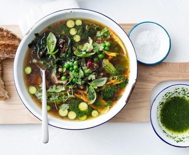 Французский суп «Писту»