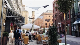 [4K] Walking in Hamburg Germany 2020 - Summer Day City Walk Tour