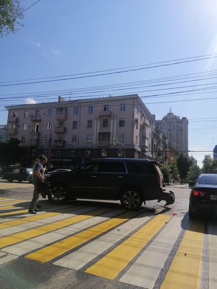 ДТП Плехановская - Никитинская 1.
