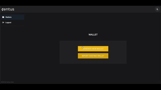 Generate and import stellar wallet