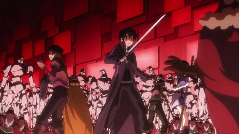 Смерть Чёрных Котов Полнолуния / Death Of The Moonlit Black Cats : Sword Art Online