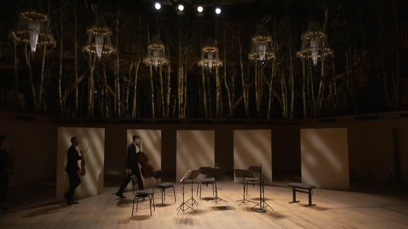 La Grange au Lac Le Quatuor Ebène et Antoine Tamestit interprètent Beethoven et Mozart (Évian, 8.07.2020)