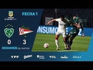 Estudiantes vs Sarmiento 3−0 - Extеndеd Hіghlіghts & All Gоals 2021 HD