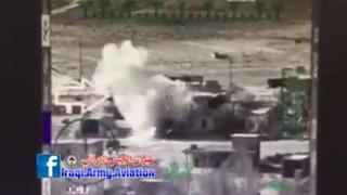 "Iraqi MI 28 ""havoc"" Gun Cam Footage صقور مي 28 العراقية يسحقون الدواعش في الانبار"