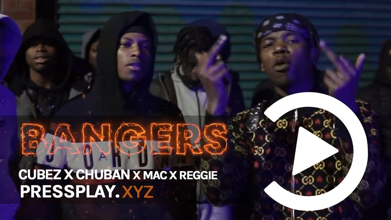 Cubez x Chuban x Mac x Reggie Year of the Real Ireland 🇮🇪 Music Video IrishDrill Pressplay