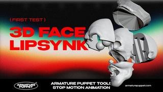 3D Печать мимики лица для Стоп Моушен анимации