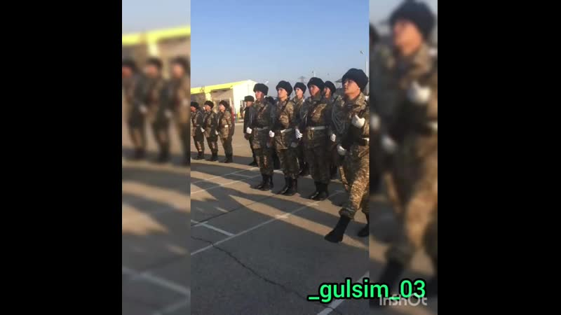 Мой солдат 💪👨✈️ gulsim 03