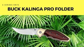 Hunting Tech - Buck Kalinga Pro Folder Knife Review - HD