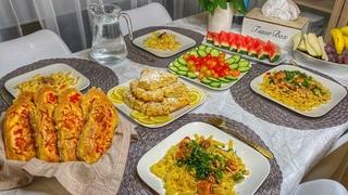 ИФТАР ДЕНЬ 10 ✨ ТЕСТО КАК ПУХ | ЛИМОННИК | меню на ифтар | что готовить на ифтар