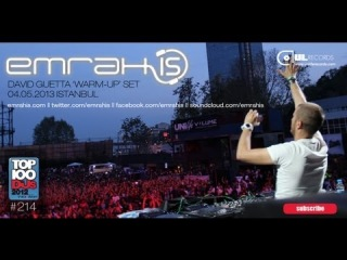 Emrah Is (David Guetta Warm-Up) Set ( - Istanbul)
