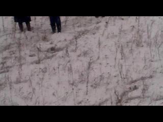 Авария, на трассе Аргаяш-Челябинск, возле Бажикаева! 28.12.2011