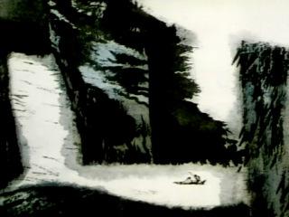 Shan Shui Qing (1988), Китайская акварельная анимация / Chinese Watercolor Animation