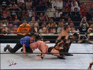 The Rock vs. Brock Lesnar Summerslam 2002