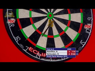 Andy Hamilton vs Davy Verkooijen (Dutch Darts Masters 2013 / First Round)