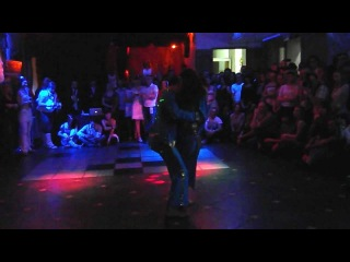 performance of Riccardo Recanati and Katia at the 3rd Belarusian Bachata-Kizomba Festival
