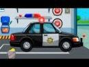 Мультфильмы Мультики про машинки Видео для детей про полицейские машины и их работу все серии подряд