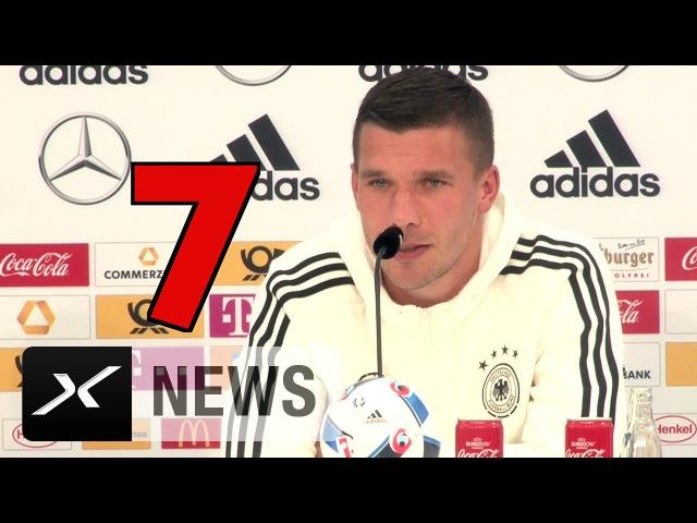 Europameister! Lukas Podolskis EM-Ziel in Endlosschleife | DFB-Team | EM 2016 Frankreich