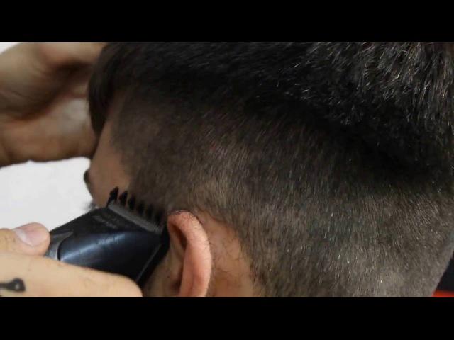 ПОЛУБОКС работа машинкой Обучение для парикмахеров от Узун Виталия Одесса