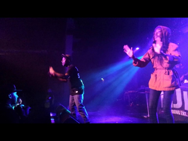 Oxymorontour x Birmingham: Little Simz x Isaiah Rashad stage turn-up