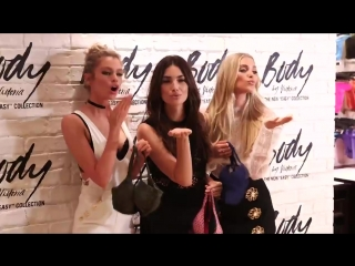 Lily Aldridge, Stella Maxwell  Elsa Hosk Present the Body By Victoria Collection