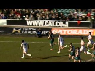 Попытка недели Ed Slater (Aviva Premiership Rugby)