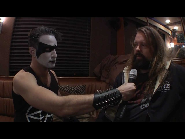 Necrosexual interviews Peter Iwers from In Flames in Philadelphia 11 24 2012