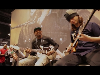 Eric Gales & Cody Wright Live At The Dunlop Booth NAMM 2017