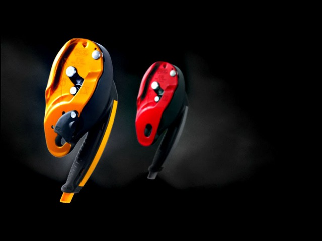 ID - Self-braking descender for rescue with anti-panic function - Petzl