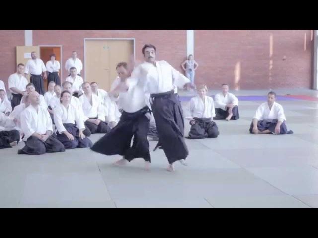 Shihan Christian Tissier in Shin Dojo Aikido Club, Poznan /Poland