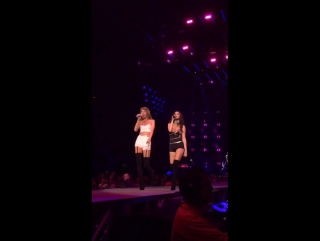 August 26th: Selena performing Good For You with Taylor Swift at the 1989 Tour