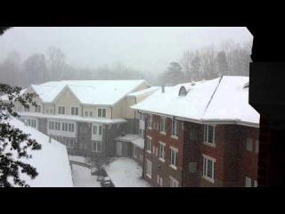 Snow in Winston Salem Feb-12-2014