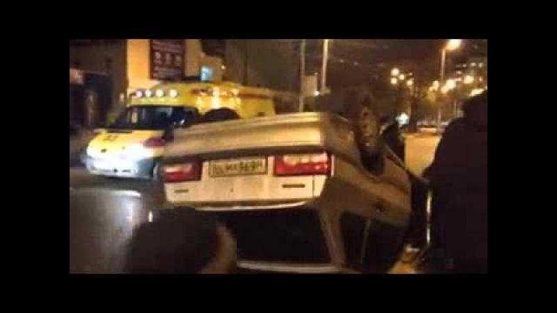 Стерлитамак 14 12 2015 ДТП с пострадавшими напротив остановки Ж д вокзал