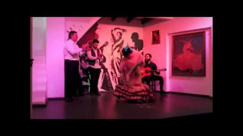 Tablao Los Gallos Enrique El Extremeño y Maria Moreno con Jose Acedo y El pechuguita