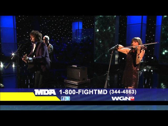 Richie Sambora Livin' on a Prayer It's My Life MDA Telethon September 4 2011
