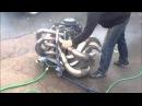 Как звучит 2 тактный 8 цилиндровый двигатель
