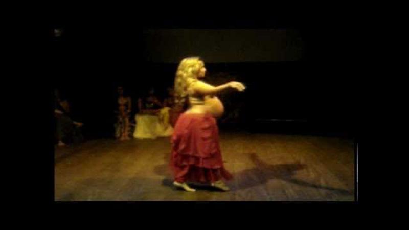 Solo Dança do Ventre - Paloma Lago (grávida)