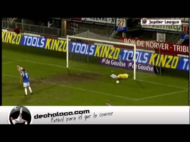 Gol de chalaca de Mario Bilate Sparta vs Den Bosch Eerste Divisie 2011 2012