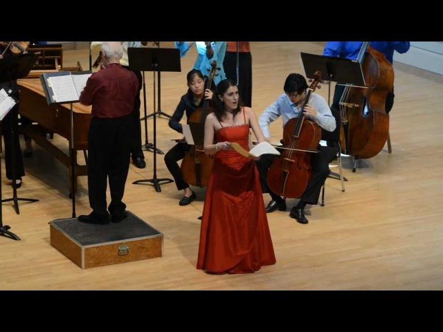 Alleluja SILETE VENTI G F Händel Paloma Friedhoff Bello soprano