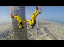 Burj Khalifa Pinnacle BASE Jump 4K