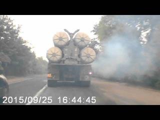 Одесса передвижение колонны С300 25/09/2015