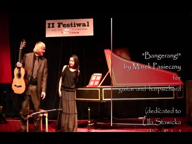 Marek PASIECZNY 'Bangerang ' guitar harpsichord