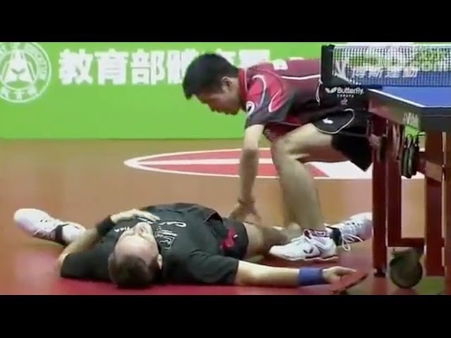 The Funniest Table Tennis Match in HISTORY
