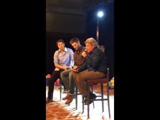 Роберт сингер вспоминает и рассказывает, как крипке пригласил его в сериал.