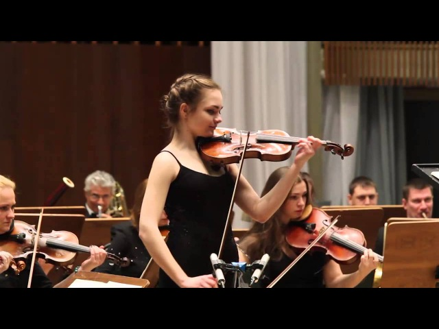 Polina Shupilova Nikolo Paganini concert N1