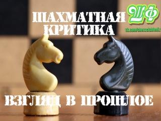 Шахматная критика - взгляд в прошлое. 2 этап кубка города 2004. Партия №2