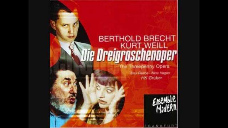 Eifersuchtsduett - Dreigroschenoper / Threepenny Opera - Winnie Böwe Sona MacDonald