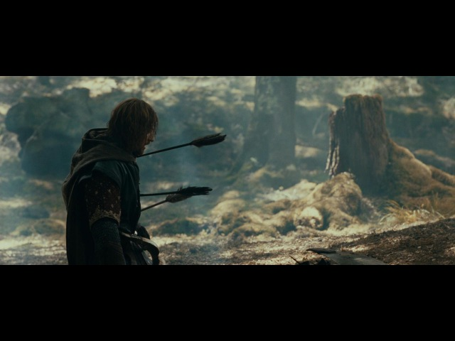 LOTR The Fellowship of the Ring Extended Edition Boromir's Last Stand