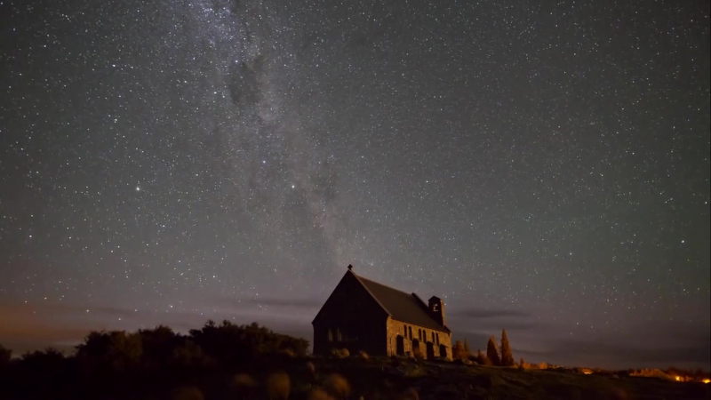 Tekapo - Mt Cook (New Zealand) International Dark Sky Reserve